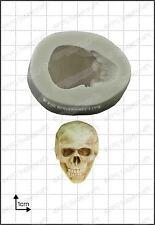 Silikonform 3D Totenkopf Essen Verwendung FPC Sugarcraft