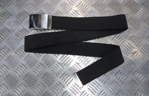 """Military Style 2"""" Canvas Web Roll Buckle Parade Trouser Belt Unisex All Colours"""