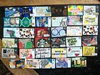 Lot of 76 different Starbucks Gift Cards  - NO VALUE