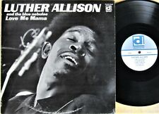 CHICAGO BLUES LP: LUTHER ALLISON & The Blue Nebulae LOVE ME MAMA Delmark DS-624