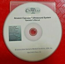 Acuson Cypress Ultrasound System Operator Manual On 13 Languages 08659950 Rev 01