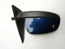 VAUXHALL MERIVA DOOR WING MIRROR O/S DRIVERS SIDE BLUE 2003 TO 2009 FREE P&P