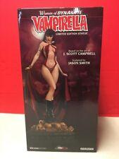 Women Of Dynamite Vampirella Limited Edition Statue J. Scott Campbell SEALED