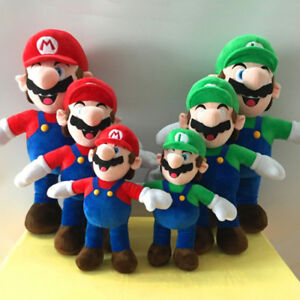 33/42/52CM Super Mario Luigi Charakter Puppe Plüschtier Stofftiere Spielzeug DE