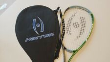 Harrow Junior Squash Racquet - 2014 Model (Green/Purple) - Slightly Used
