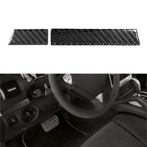 For Porsche Cayenne Sport 2003-10 Carbon Fiber Left Of Steering Wheel Cover Trim