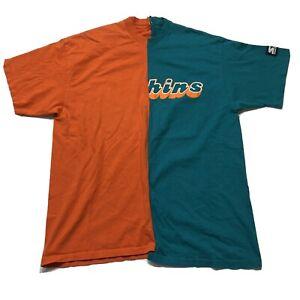 Vintage 90s Starter Half Dan Marino #13 Miami Dolphins T-Shirt Green Large
