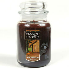 Yankee Candle New England Maple Large Scented Candle 22 oz