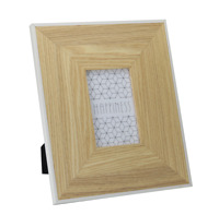 "Picture photo frame 6x4"" posters frames large wooden NATURAL Wood"