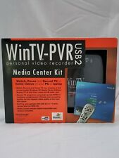 Hauppauge WinTV-PVR-USB2 MCE Bundle TV Tuner/Personal Video Recorder Never Used