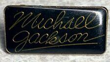 Vintage 80's MICHAEL JACKSON Lapel Hat Pin    [B]