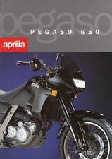 P + APRILIA Pegaso 650 + original Prospekt brochure + 4 Seiten + aus 1995