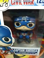 Marvel Captain America CW #125 Pop Vinyl Bobble-Head Figure Funko Aus Seller