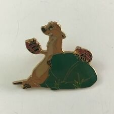 DISNEY THE LION KING TIMON LEANING AGAINST A LEAF EATING A BUG PIN RARE