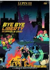 DVD LUPIN III 3rd Film Collection - BYE BYE LIBERTY SCOPPIA - Nuovo sigillato