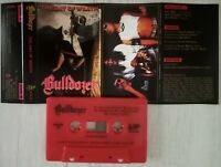 BULLDOZER - THE DAY OF WRATH MC RED TAPE CASSETTE OFFICIAL REISSUE 2020 LIM 200
