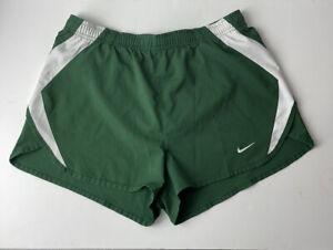 Nike Running Shorts Men's Medium Green Lined