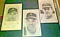 1969 Oakland Athletics A's Team Issued Photo set 12 with Reggie Jackson Rookie