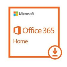 Microsoft Office 365 Home Subscription 1 Year ESD Version Key for Upto 5 Users