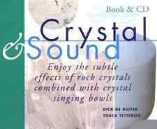 """CRYSTAL & SOUND"" Ruiter/Tetteroo (BOOK & CD Set 2004) Rock Crystals *VERY GOOD*"