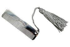 "Judith Leiber metal comb 3"""