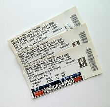 BRUCE SPRINGSTEEN TICKETS Ticket Stub(s) Manchester United Memorabilia 28/05/08