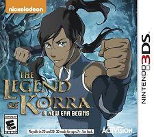 Legend of Korra: A New Era Begins (Nintendo 3DS, 2014)