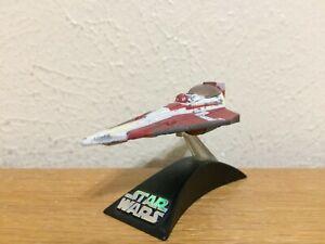Hasbro Star Wars Titanium Series Die-Cast Obi-Wan's Jedi Starfighter Model--2008