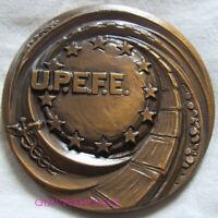 MED10165 - MEDAILLE UNION DE LA PRESSE ECONOMIQUE & FINANCIERE EUROPEENNE 1968