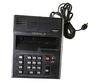 Vintage Unitrex 1200K Calculator with Panaplex Display Made in Japan
