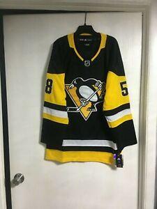 Pittsburgh Penguins Kris LeTang # 58 Jersey