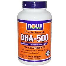 Now Foods Dha-500 doppelt stark 180 Softgel