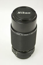 Nikon Series E 75-150mm f3.5 AIS zoom manual focus lens with caps. Ser.#1818688