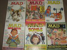 Mad Magazine Vintage (1966) (Lot Of 6) #s 101-104, 106, 107