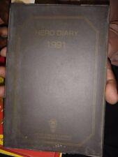 INDIA RARE  - HERO DIARY 1991 HERO CYCLES LTD UNUSED CONTAIN SHERO SHAYARI