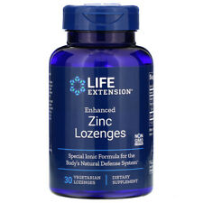 Life Extension Enhanced Zinc Lozenges 30 lozenges | 01961 FREE SHIPPING