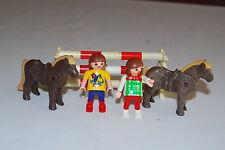 Playmobil 3714 b)  Saltos  equitacion Jump Potro Horse Colt caballo riding schoo