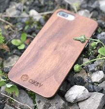 iPhone 8+ (Plus) Walnut Wood Case | OXSY Real Wood iPhone 8 Plus Cover