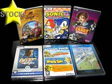 LOTTO STOCK 6 GIOCHI MISTI SONIC 007 LARRY SIMON 4 ACTION PC NUOVI ITA STOCK81