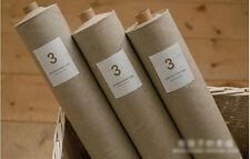 Quality Linen Fabric Cotton blend for Craft Homeware Zakka Natural Ecru 1 Meter