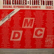 SANNY X REPRODUCTION tina charles i love to love/the biddu orchestra sunburn SP+