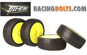 James Racing 1/8 Scale Nitro Off Road Buggy Tyres not AKA Beta Proline Pro-line
