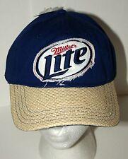 Miller Brewing Light Beer Straw Baseball Cap Hat New Tags OSFM