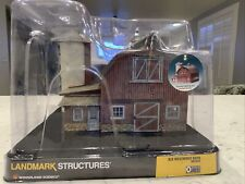 """Landmark Structures """"The Old Weathered Barn"""""""