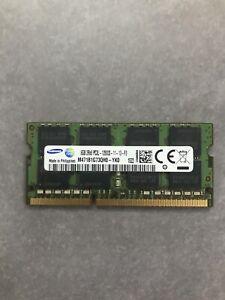 Barrette Samsung mémoire vive RAM 8GB 8Go 2Rx8 DDR3L PC3L 12800S Pc Portable