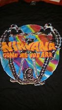 NIRVANA 1992 Come as You Are vintage licensed tour shirt XL Giant Mrch Brand New