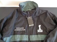 SUPERBOWL XLV Populous Accreditation NFL Promo XL Jacket Broncos Seahawks NEW