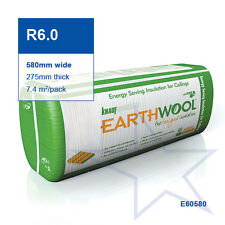 R6.0 | 580mm Knauf Earthwool® Thermal Ceiling Insulation Batts