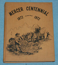 Mercer Centennial 1872-1972 (Mercer Missouri) HB Book