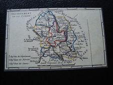 FRANCE - carte 22/3/1990 (carte departement de la lozere) (cy79) french